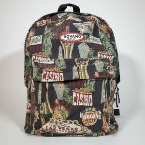 Las Vegas Nevada Casino Backpack Travel Bag 🔥